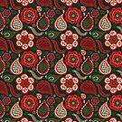 Boho Chirstmas Pattern by jenndalyn