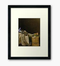 The Death of Scallion Framed Print
