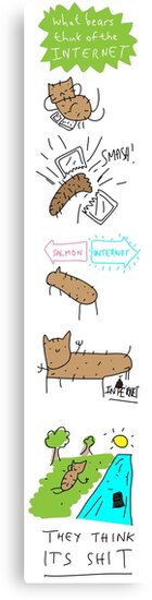 what_bears_think_of_the_internet by twistedshotgun