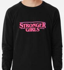 Stribger Mädchen (Rosa) Leichter Pullover