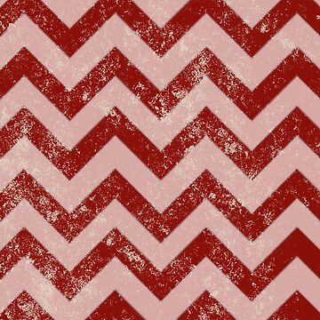 Candy Cane Chevron by jenndalyn