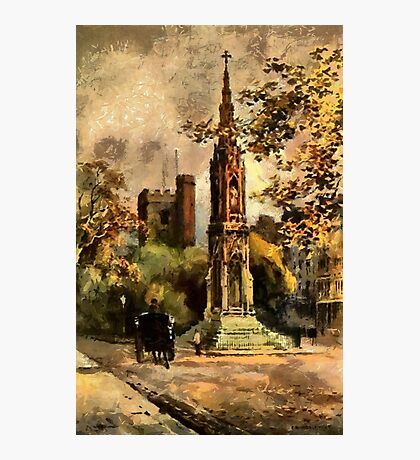 The Martyr's Memorial, Magdalen Street, Oxford 1853 Photographic Print
