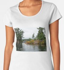 Bridged Islands Women's Premium T-Shirt