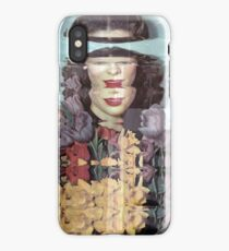Scanned Portrait of a 50's Film Star. iPhone Case/Skin