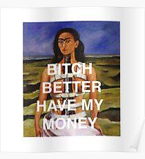 Rihanna meets Frida  Poster