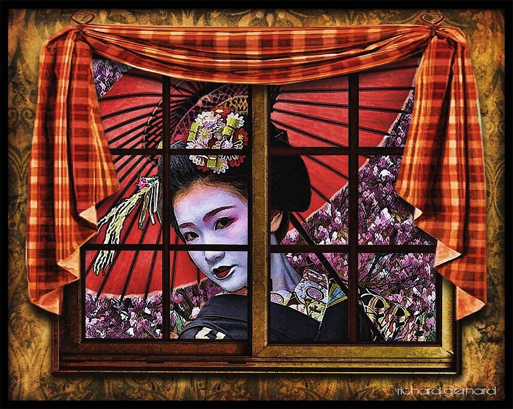 Geisha by Richard  Gerhard