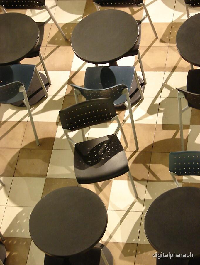 Overhead Chairs, Union Station by digitalpharaoh