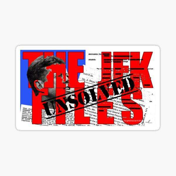 The JFK Files Sticker