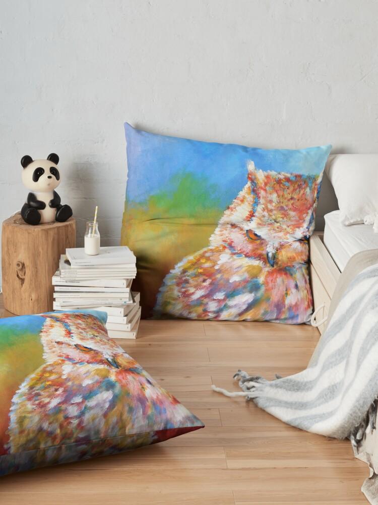 Alternate view of Sleepy Contemplation Floor Pillow