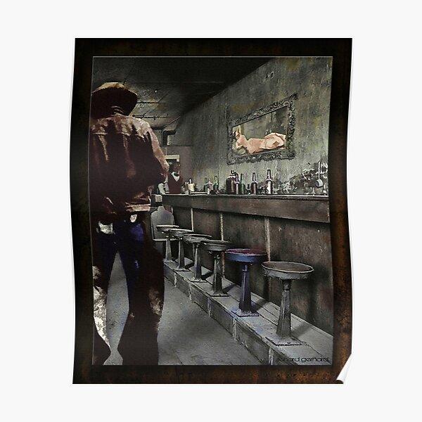 Arizona Art Posters, Wood /& Metal Signs, Totes Tombstone Cowboy Standoff