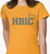 HBIC (Cheryl's version w/ crown) Women's Fitted T-Shirt