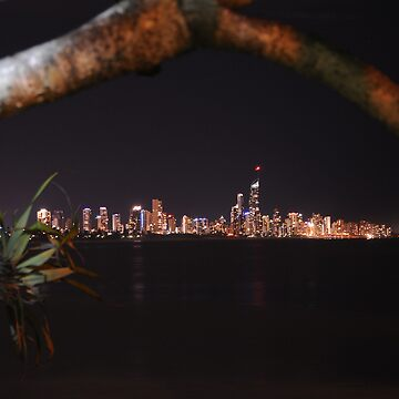 Surfers Paradise by Night by jessrobbo