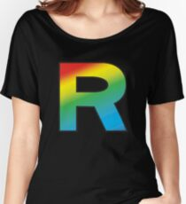 Team Rainbow Rocket Women's Relaxed Fit T-Shirt