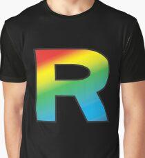 Camiseta gráfica Equipo Rainbow Rocket