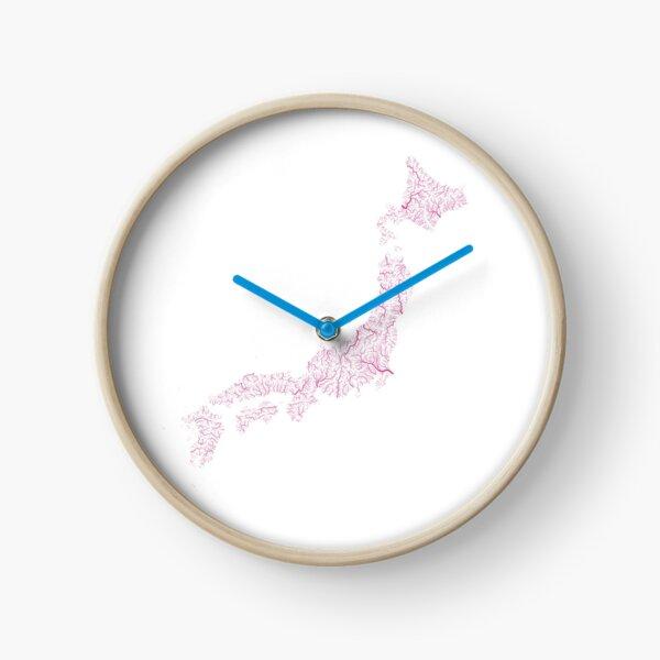 Rivières japonaises Horloge