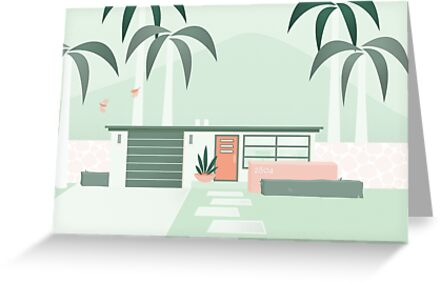 Mid Century Paradise by gingerish