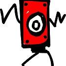 Tanzender Boxroboter von artbyvourneen