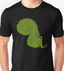 All-Knowing Pepe Unisex T-Shirt