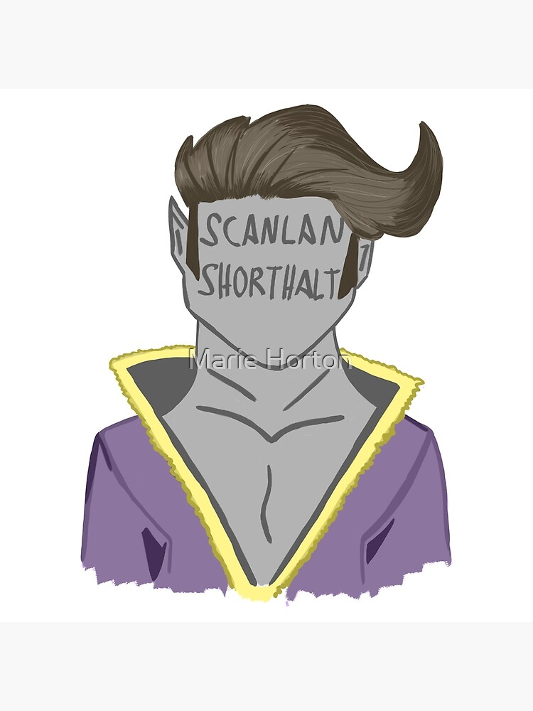 Scanlan Shorthalt 2 Art Board Print By Xomariehortonxo Redbubble It's where your interests connect you with your people. redbubble