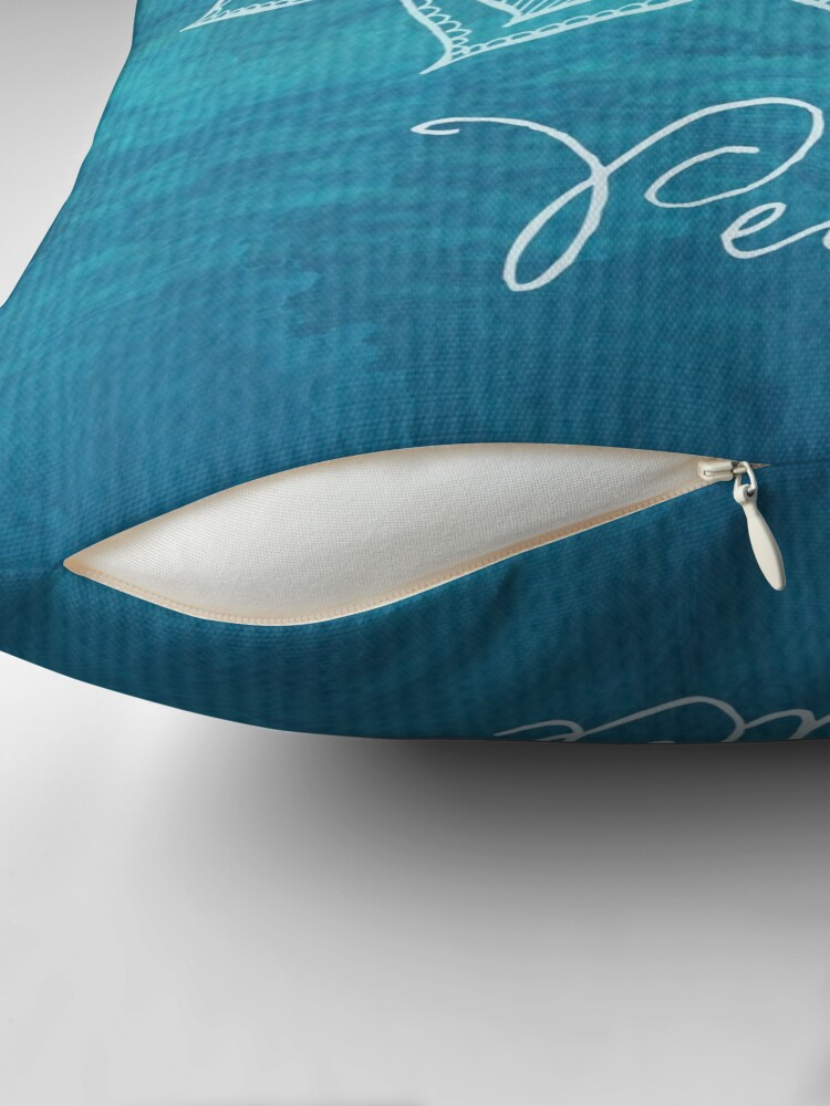 Alternate view of Peace Throw Pillow