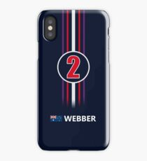 F1 2013 - #2 Webber iPhone Case/Skin