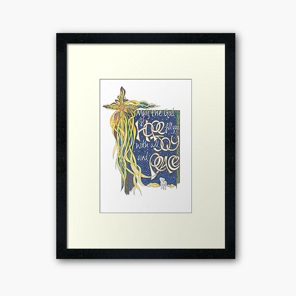 God of Hope Framed Art Print