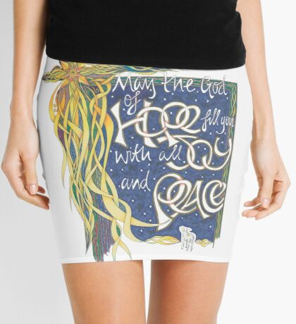 God of Hope Mini Skirt