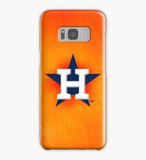 Houston Astros orange Samsung Galaxy Case/Skin