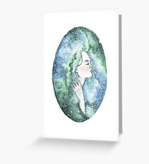 Head in the Sky  Greeting Card