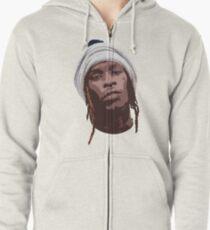 thug Zipped Hoodie