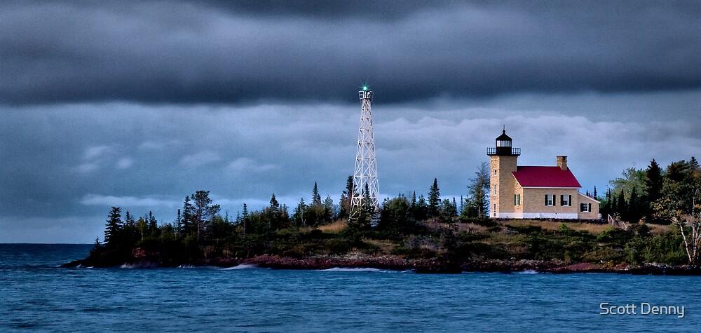 Copper Harbor Lighthouse by Scott Denny