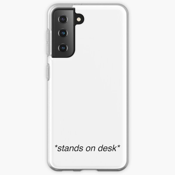 *stands on desk* Dead Poets Society Samsung Galaxy Soft Case