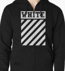 offwhite Zipped Hoodie