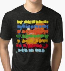 In Rainbows - Artists Rendition Tri-blend T-Shirt