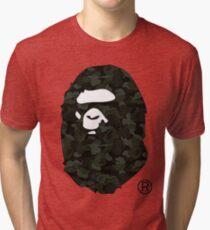 bape camo Tri-blend T-Shirt