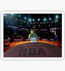 Brickography Pictures - Basketball Sticker