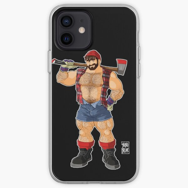 ADAM LIKES LUMBERJACKS iPhone Soft Case