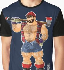ADAM LIKES LUMBERJACKS Graphic T-Shirt