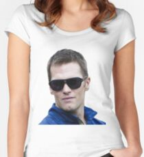 Funny Tom Brady Women's Fitted Scoop T-Shirt