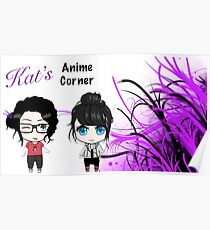 Kat's Anime Corner - The Two Faces of Kat Poster
