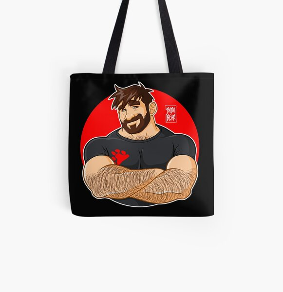 ADAM LIKES CROSSING ARMS All Over Print Tote Bag