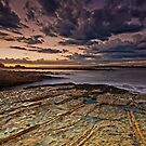 Sunset At Swansea Heads by bazcelt