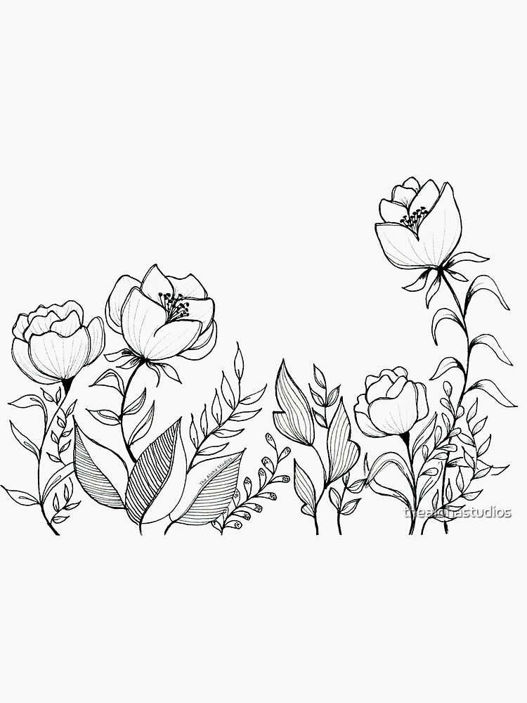 Happy flowers, by thealohastudios by thealohastudios