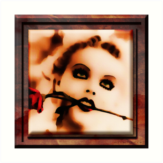 The Girl by Richard  Gerhard