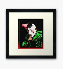 The Clown Framed Print