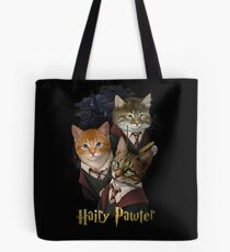 Hairy Pawter Tote Bag