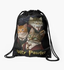 Hairy Pawter Drawstring Bag