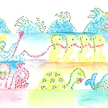 Electrical Water Pageant by HollyFlora