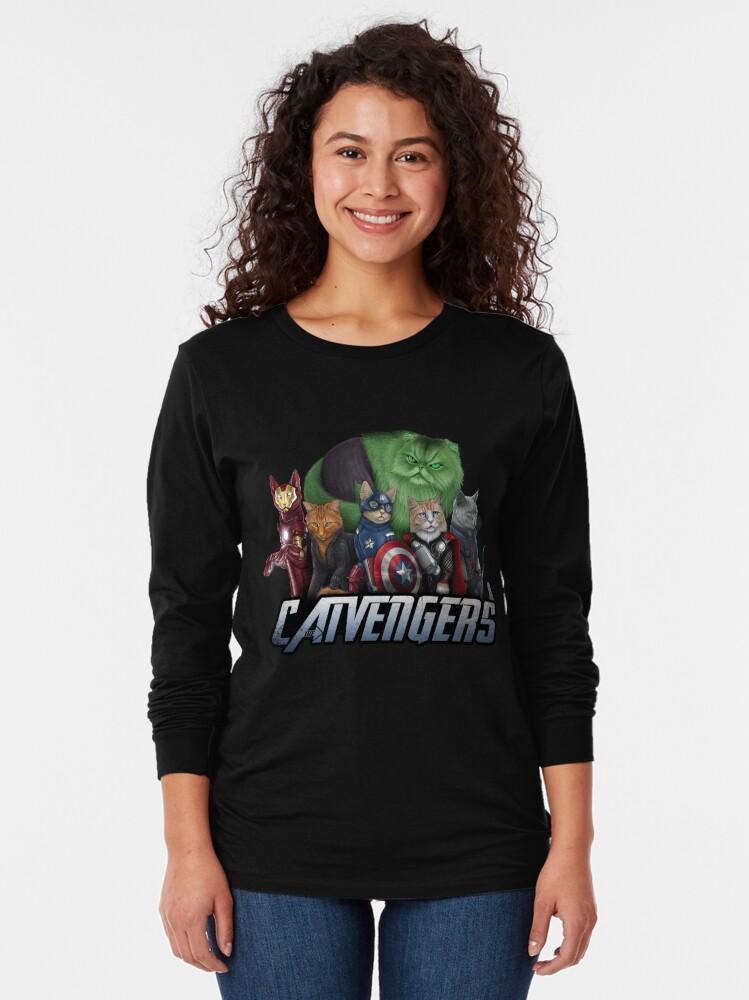 Alternate view of The Catvengers Long Sleeve T-Shirt