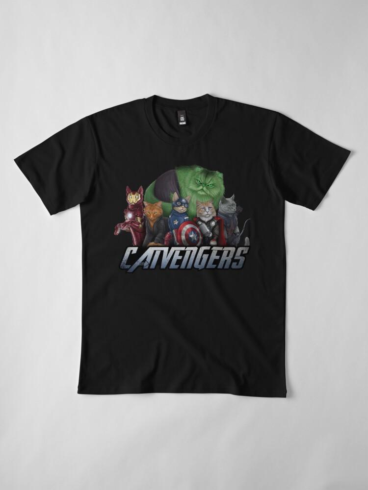 Alternate view of The Catvengers Premium T-Shirt
